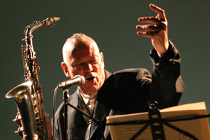 Ted Milton, Poet, Puppeteer, Saxophonist