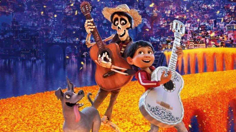 In Santa Cecilia, Mexico, Miguel dreams of becoming a musician.