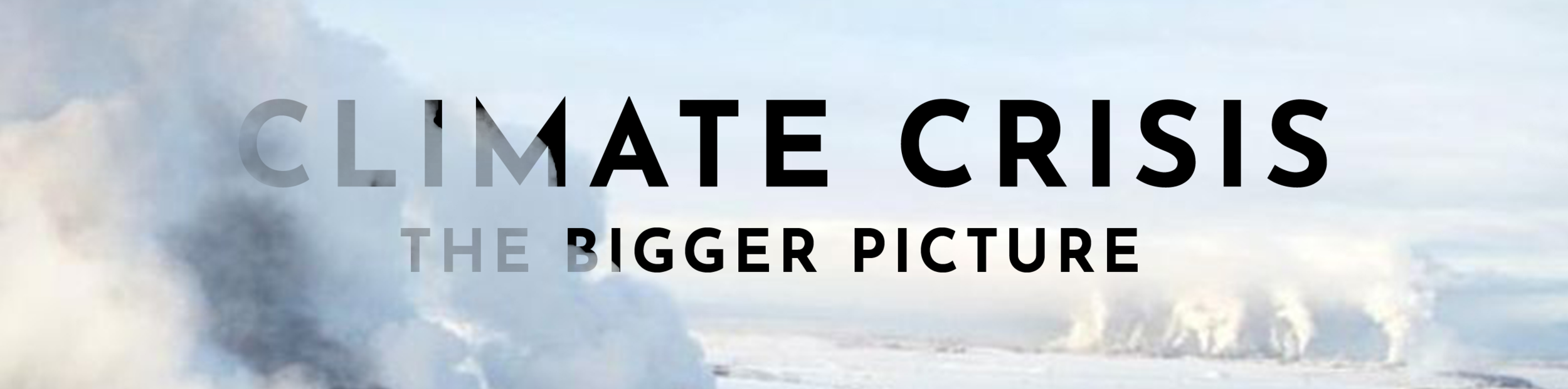 Climate Crisis Film Festival London The Bigger Picture header