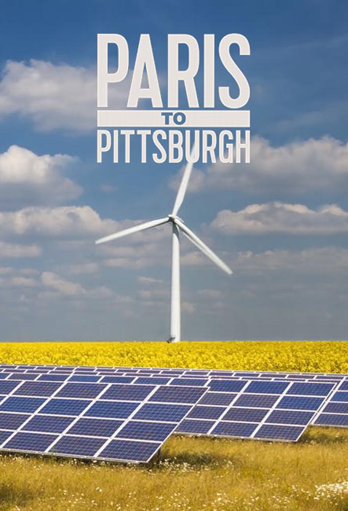 Climate Crisis Film Festival London Paris to Pittsburgh poster