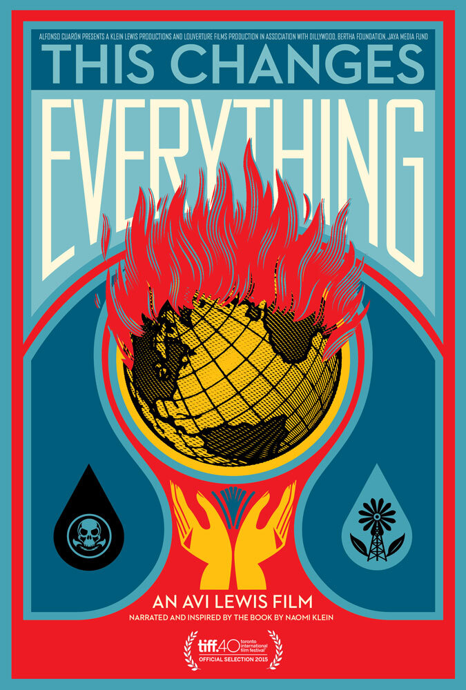 Climate Crisis Film Festival London This Changes Everything poster