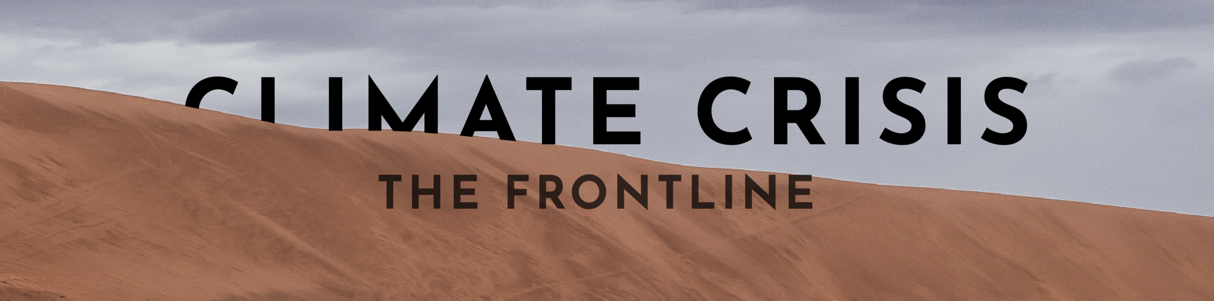 Climate Crisis Film Festival London The Frontline header