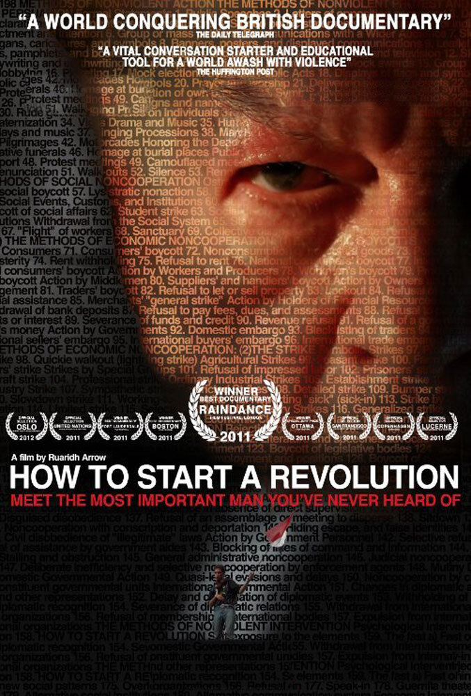 Climate Crisis Film Festival London How to Start A Revolution poster