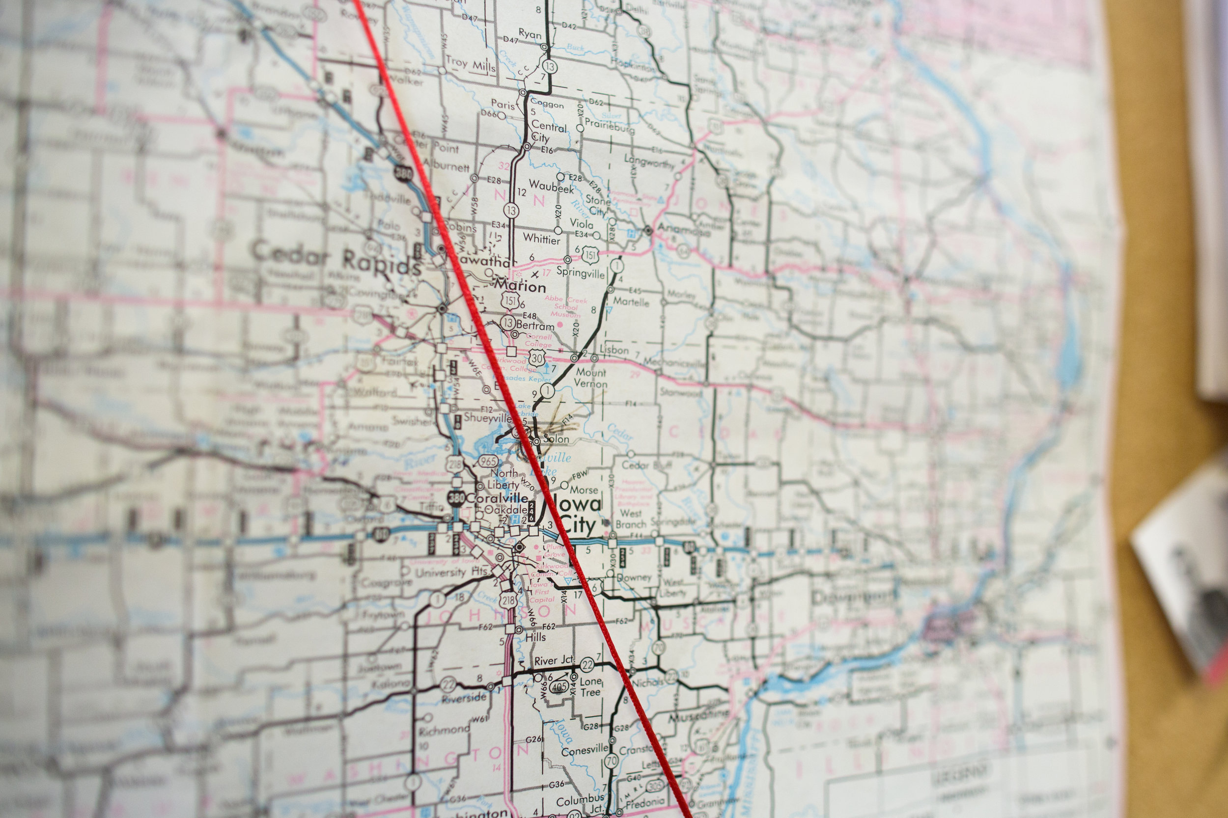 Solon is a town of approximately 2,500, located equidistant from Iowa City and Cedar Rapids, in eastern Iowa.