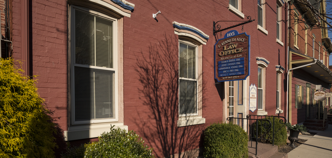 E  Kenneth Nyce Law Office, Boyertown, PA