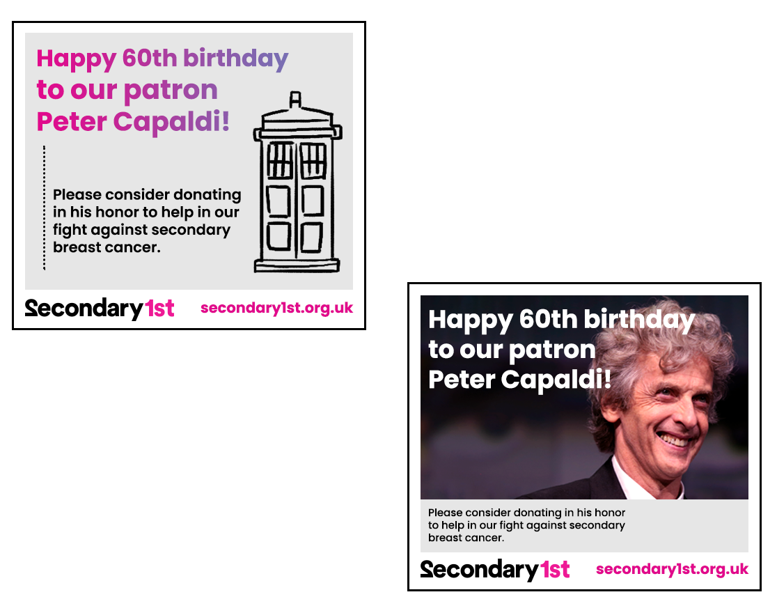Rough drafts for a post on Peter Capaldi's birthday