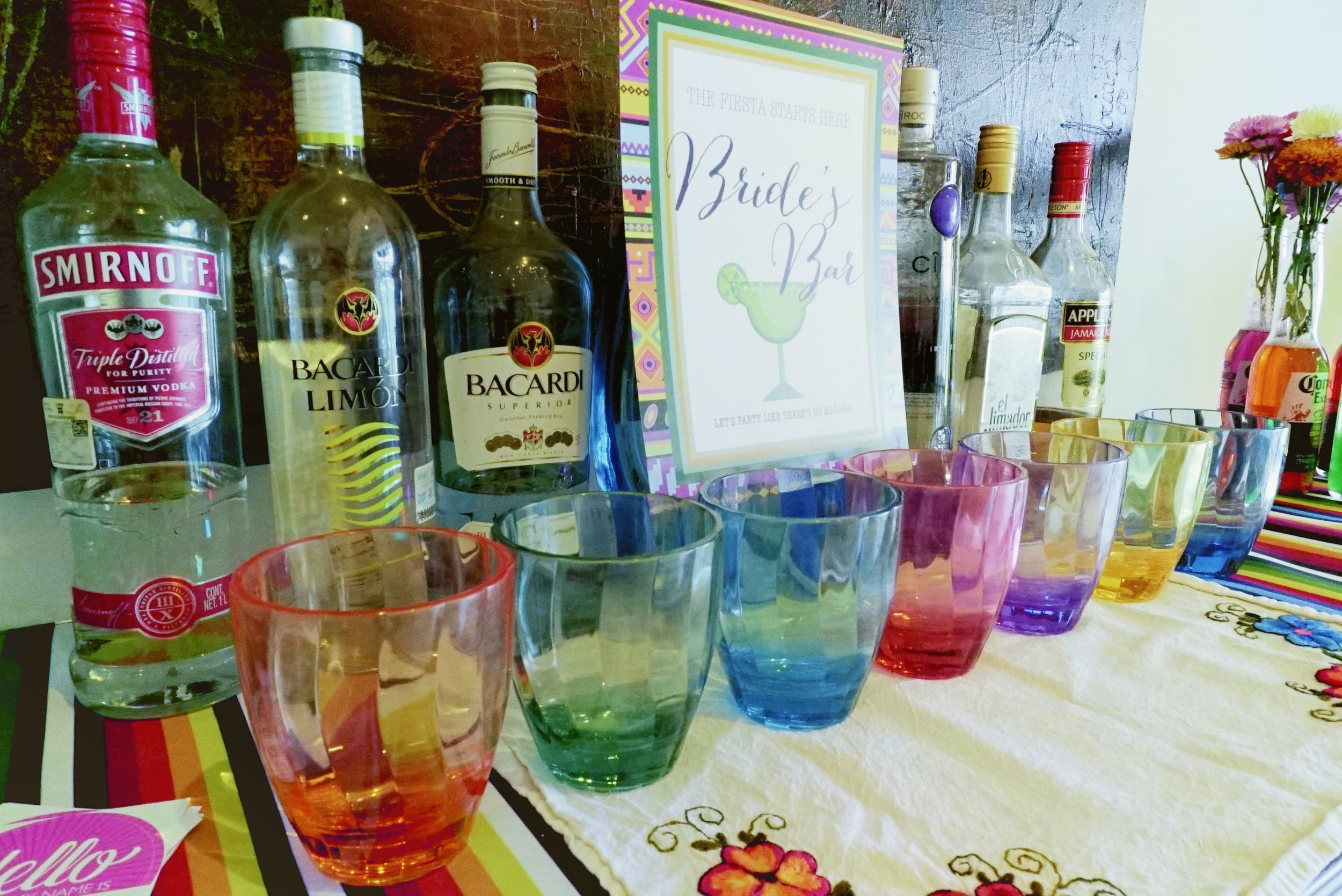 No Bachelorette Party is complete without a Bride's Bar!