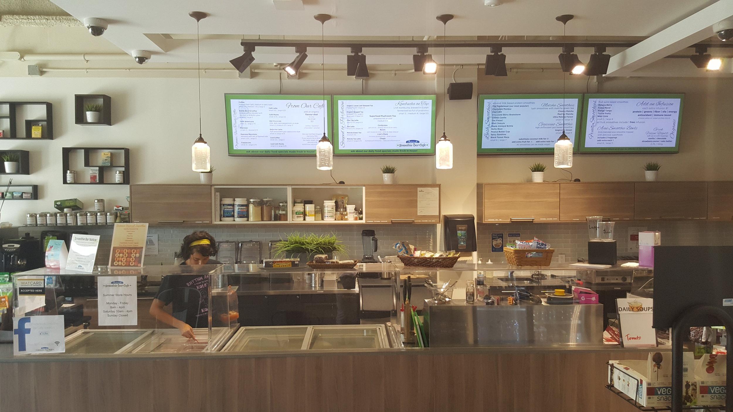 FIDDLEHEADS SMOOTHIE BAR CAFE