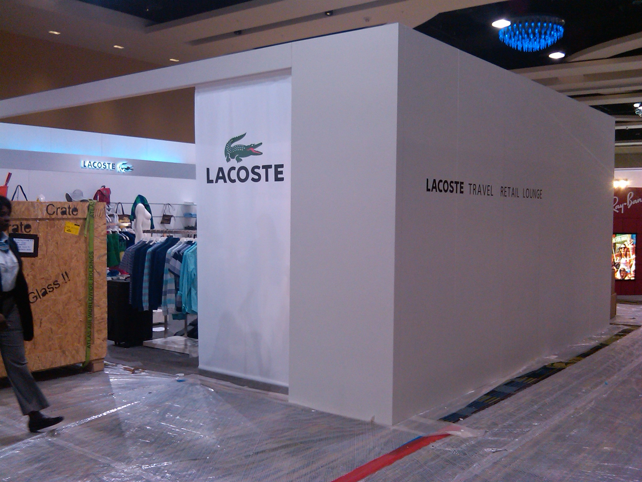 Lacoste, Duty Free Expo