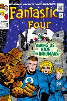 """2. Blackbolt first appearance in the Marvel Universe was in Fantastic Four #45 titled """"Amoung is hide the Inhuman's"""" December of 1965"""