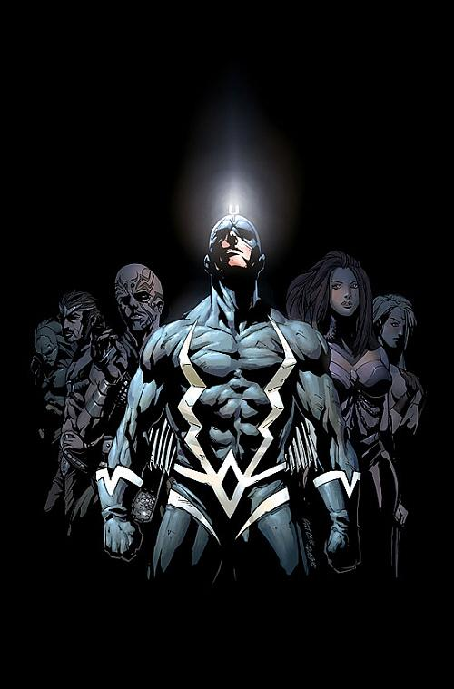 3. Black Bolt was exposed to the mutagenic Terrigen Mistswhile still an embryo, and eventually demonstrates the ability to manipulate electrons.