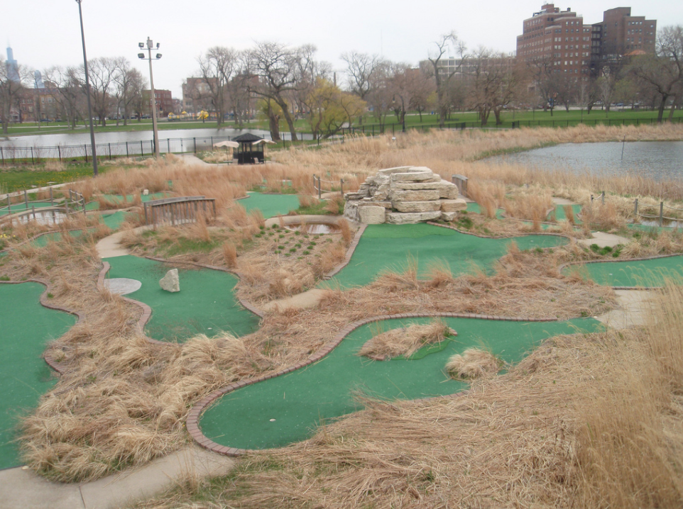 Douglas ParkMini-Golf Course - Volunteers Needed