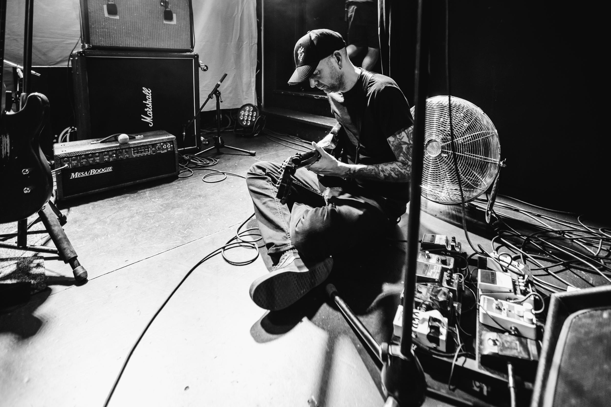 Soundcheck set-up