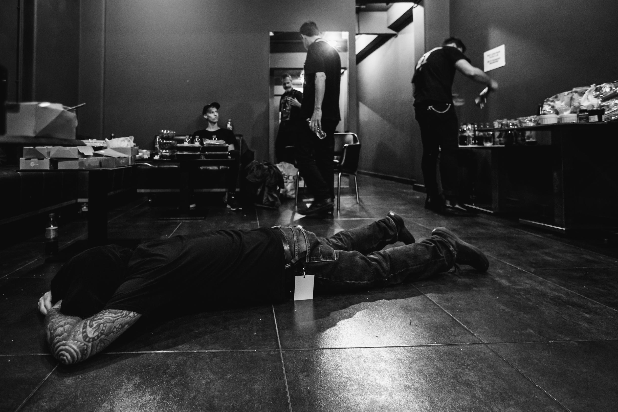 Backstage vibes