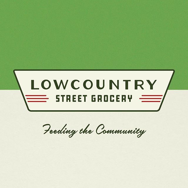 So pumped to have worked on this rebranding project with @lbbarrowj and his awesome school-bus-turned-mobile-farmers-market @lowcountrystreetgrocery. A nostalgic vibe inspired by neighborhood grocers of the 1940s felt just right. 👌