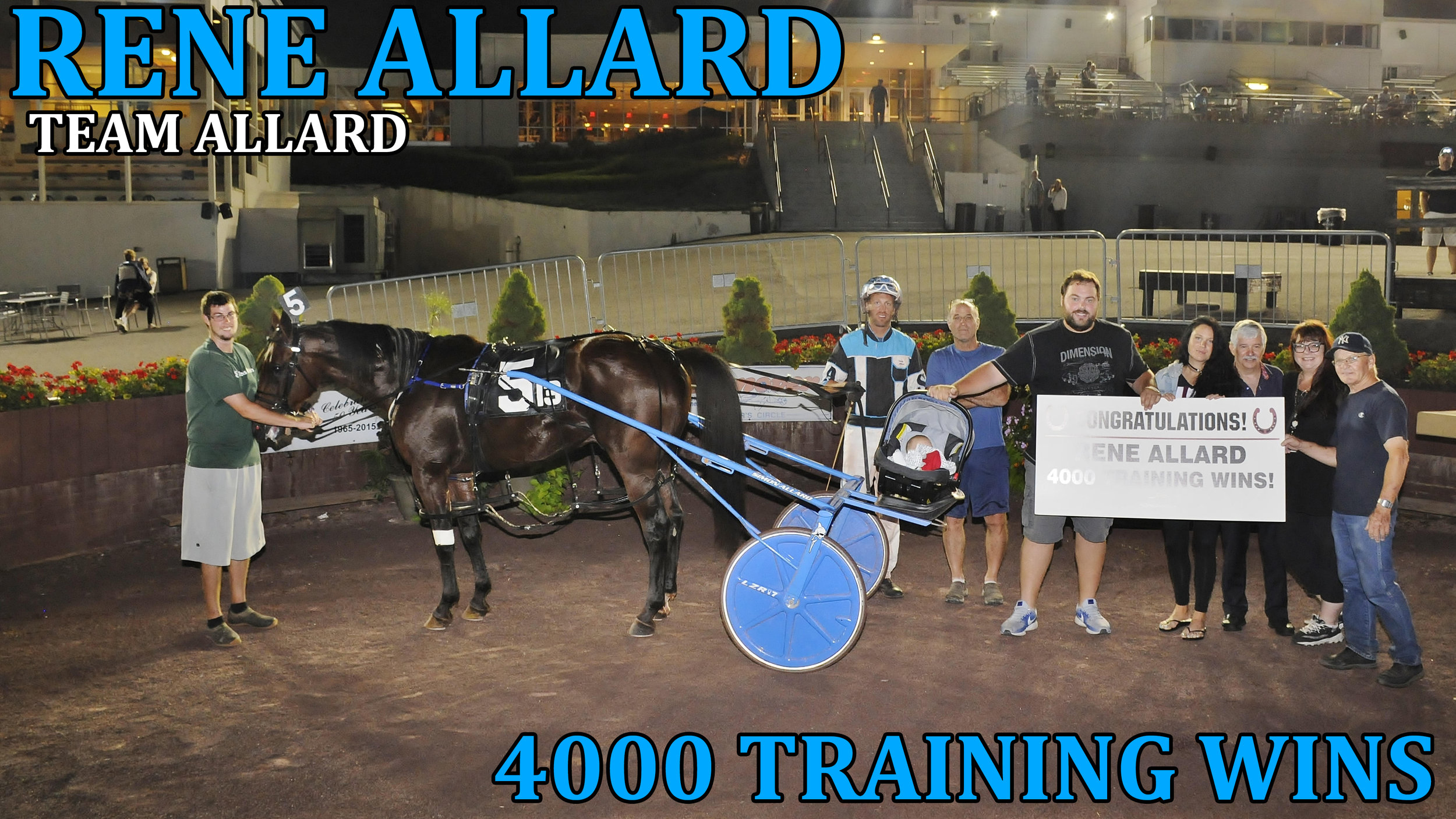 Rene Allard 4000 wins