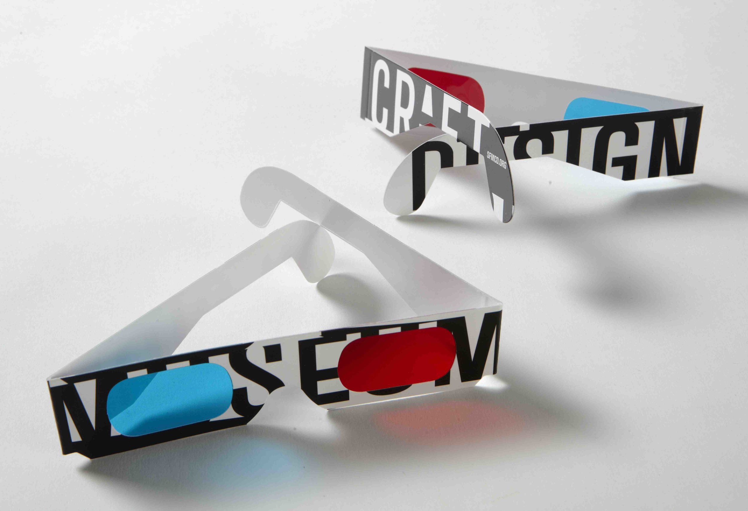 3D glasses campaign for museum