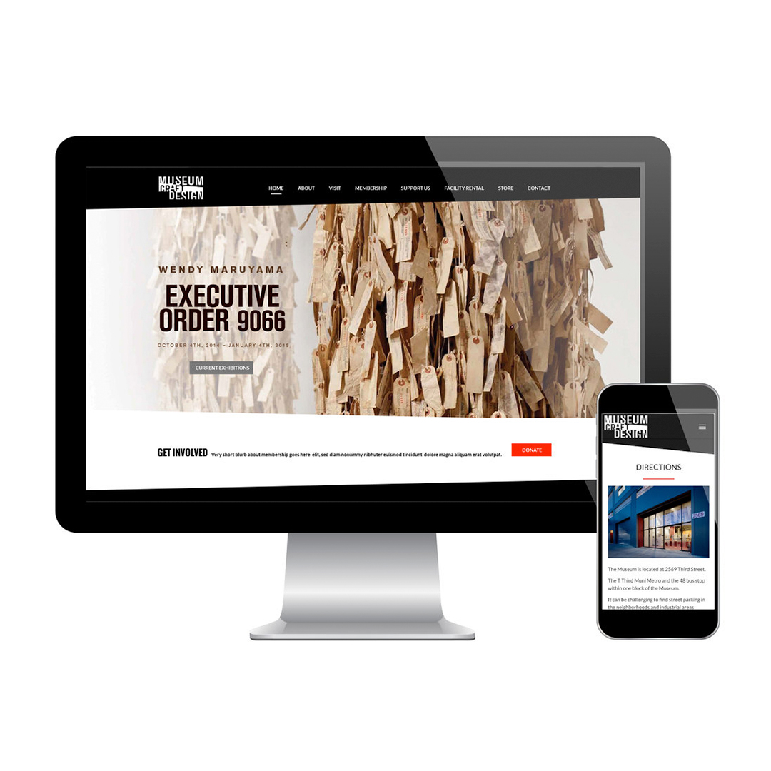 Museum of Craft and Design website