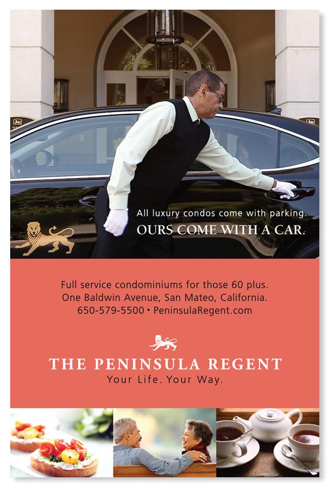Media planning advertising for Peninsula Regent