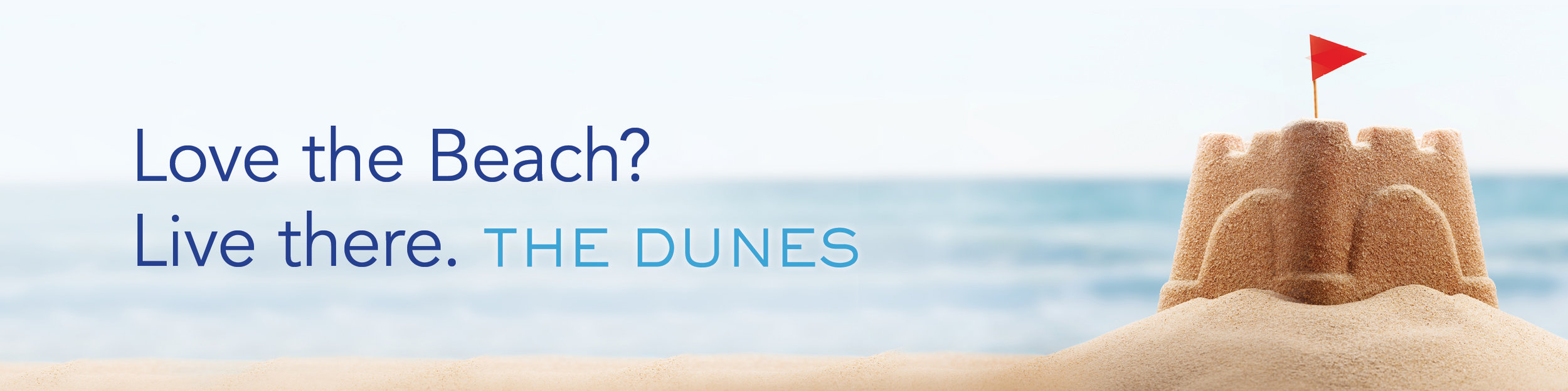 Billboard advertisement The Dunes Shea Homes