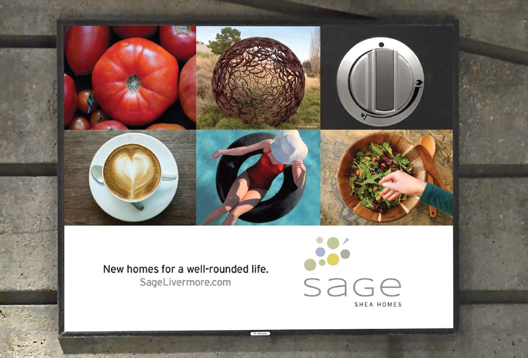 Sage BART outdoor advertisement