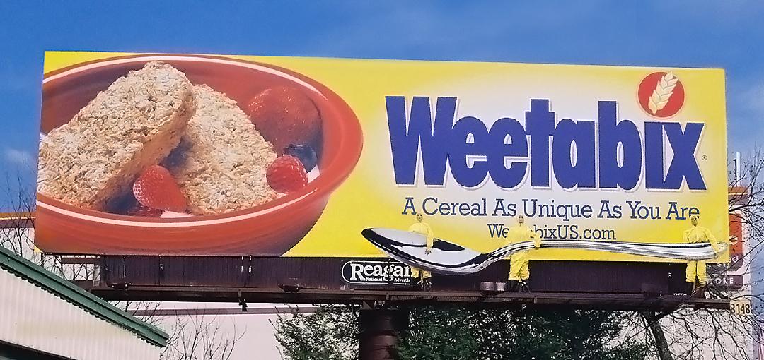Weetabix outdoor advertisement