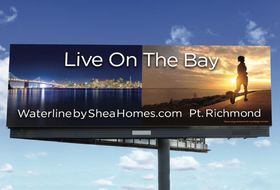 Shea Homes outdoor advertisement