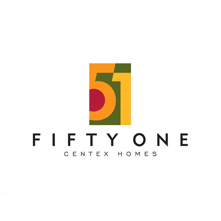 Fifty One real estate logo and branding