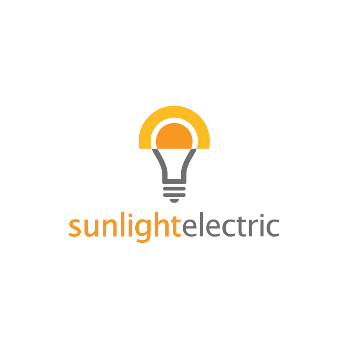 sunlight electric logo creative