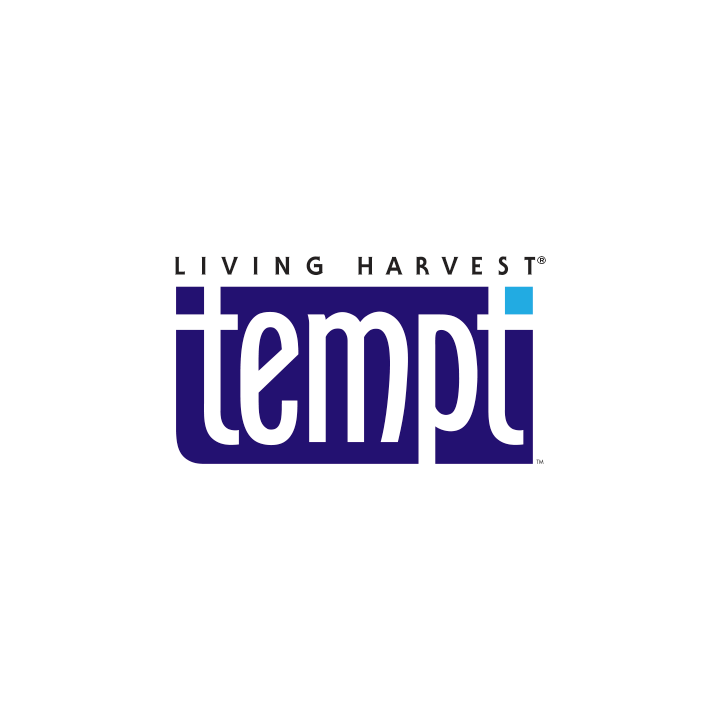 Living Harvest tempt logo marketing