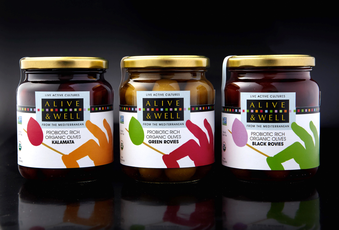 Award winning branding alive and well olives