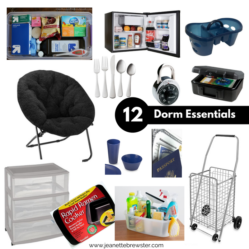 12 College Dorm Room Essentials for First years Students jean B Photography