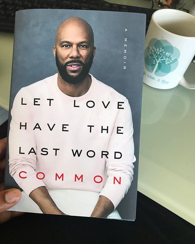 05.31.19 | #letlovehavethelastword  __________ I have always loved Common's music and I can't wait to read his memoir. Music with a message and purpose has always spoken to me. Listening to his interview on #thebreakfastclub about this book is what inspired me to pick it up. I just may get the audible too because hearing a memoir in the voice of the person brings the words to life in a new way. • Even though I love audio books and probably listen to a higher percentage of books than reading physical ones I felt like this was something I needed on my book shelf in case my boys needed something inspiring to read. • What new book have you picked up recently? Share share share! I am always looking to add to my list. . . . . . #bookstagram #newbookalert #browngirlsread #2019readinggoals #bookstoread #bookstagrammers #welovereaders #blackgirlsread #blackbookstagram #blackbooks