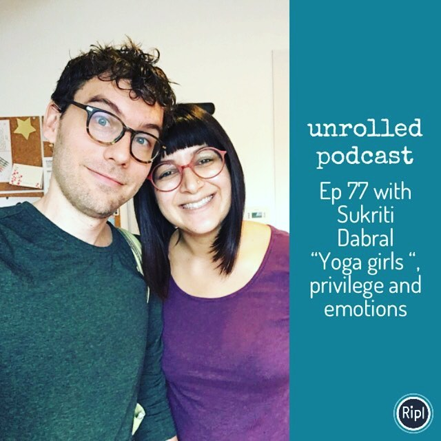 Episode 77 is up for your listening pleasure! This week Ryan talked with Sukriti Dabral (@yesitisbeautiful ) about A wide range of topics, from yoga reality TV to complex notions of privilege. #guesthost