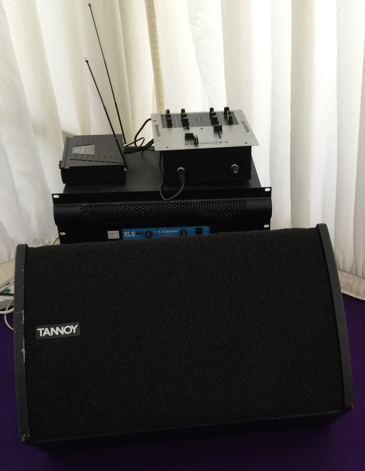Corporate PA System Hire