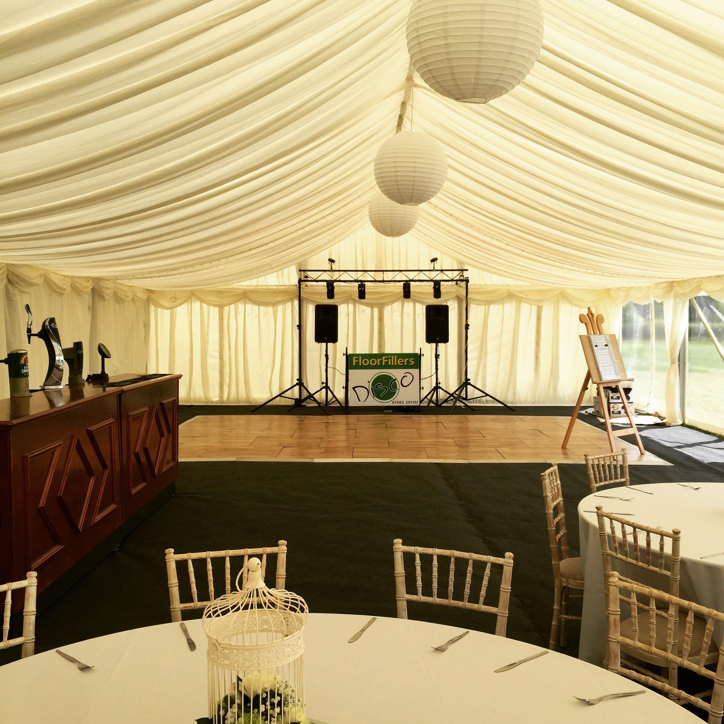 Wedding Equipment Hire DJ Lincolnshire