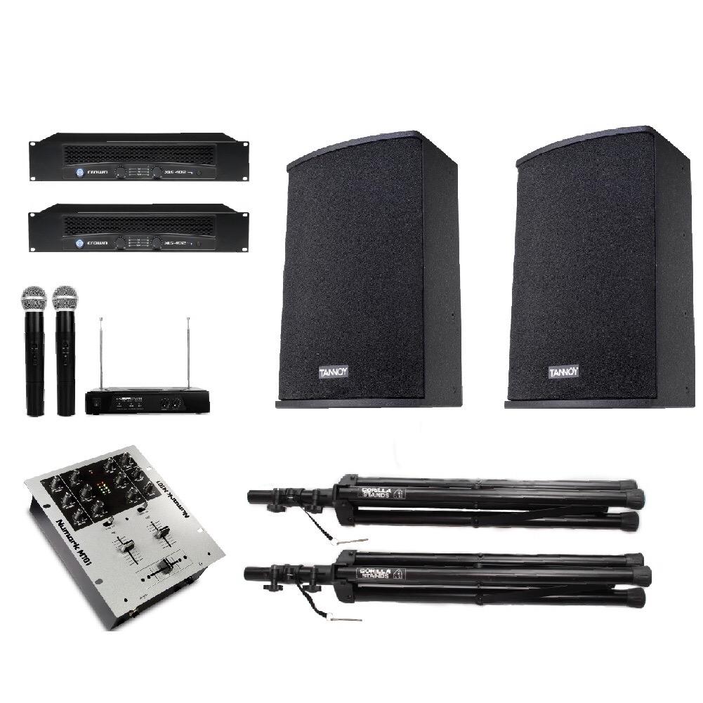 Medium Speaker Audio System Hire Lincolnshire