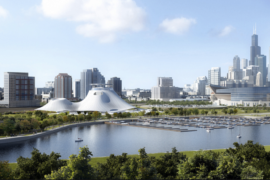 Initial Plans For The George Lucas Museum
