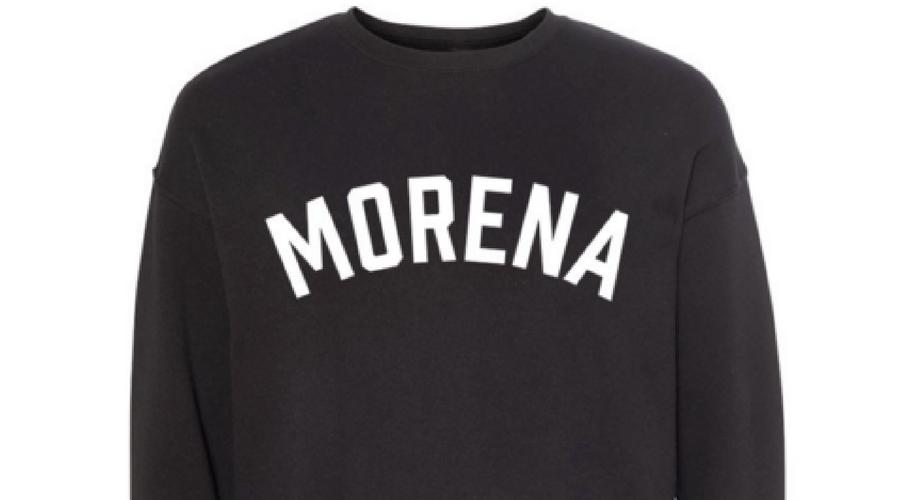 Morena sweatshirts