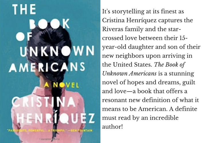 The Book Of Unknown Americans Cristina Henriquez