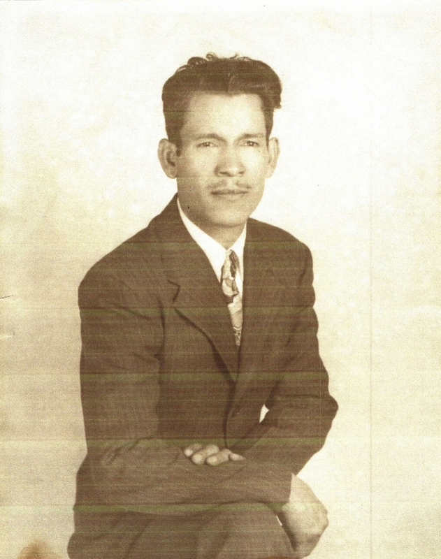 My great-grandfather, Sacarias Guerra