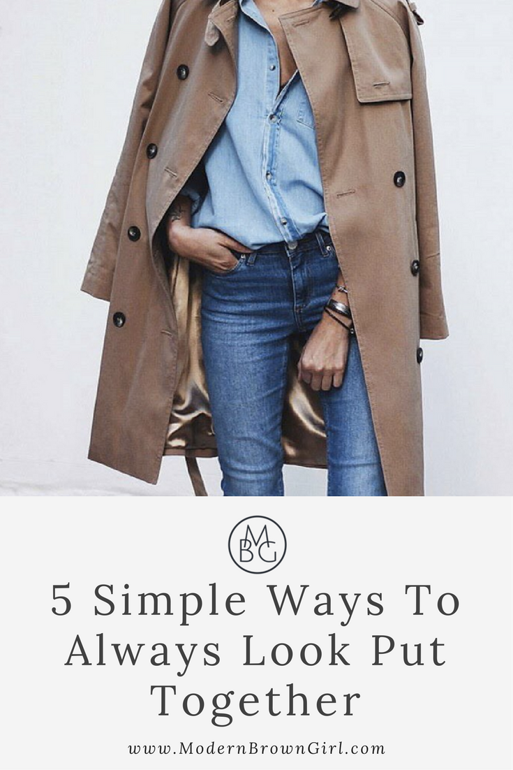 5 easy ways to look stylish all the time