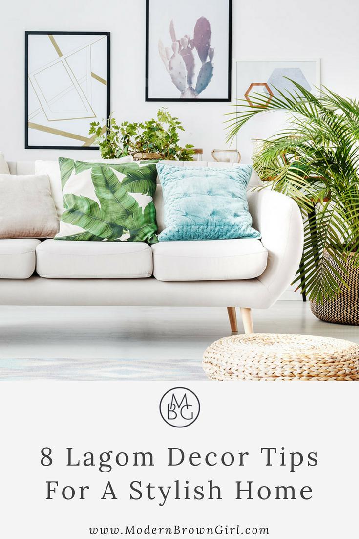 Lagom decor tips for a stylish home
