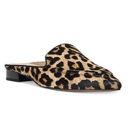 Pointed Toe Slip On Loafer Mules by Franco Sarto - $89