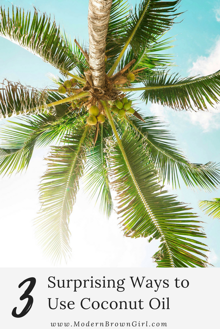 3 surprising ways to use coconut oil