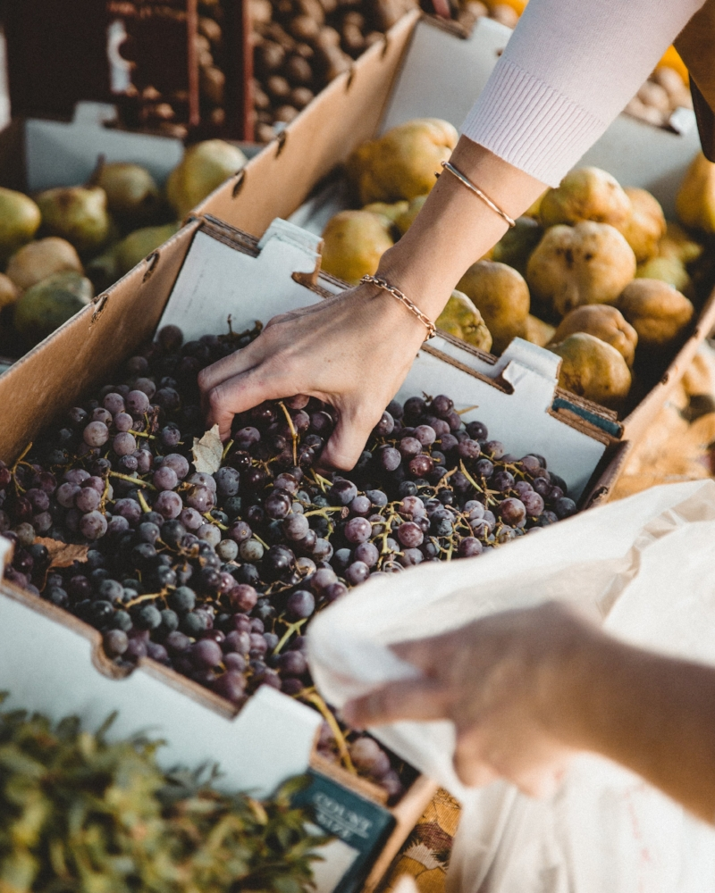 Clean eating at the Farmer's Market