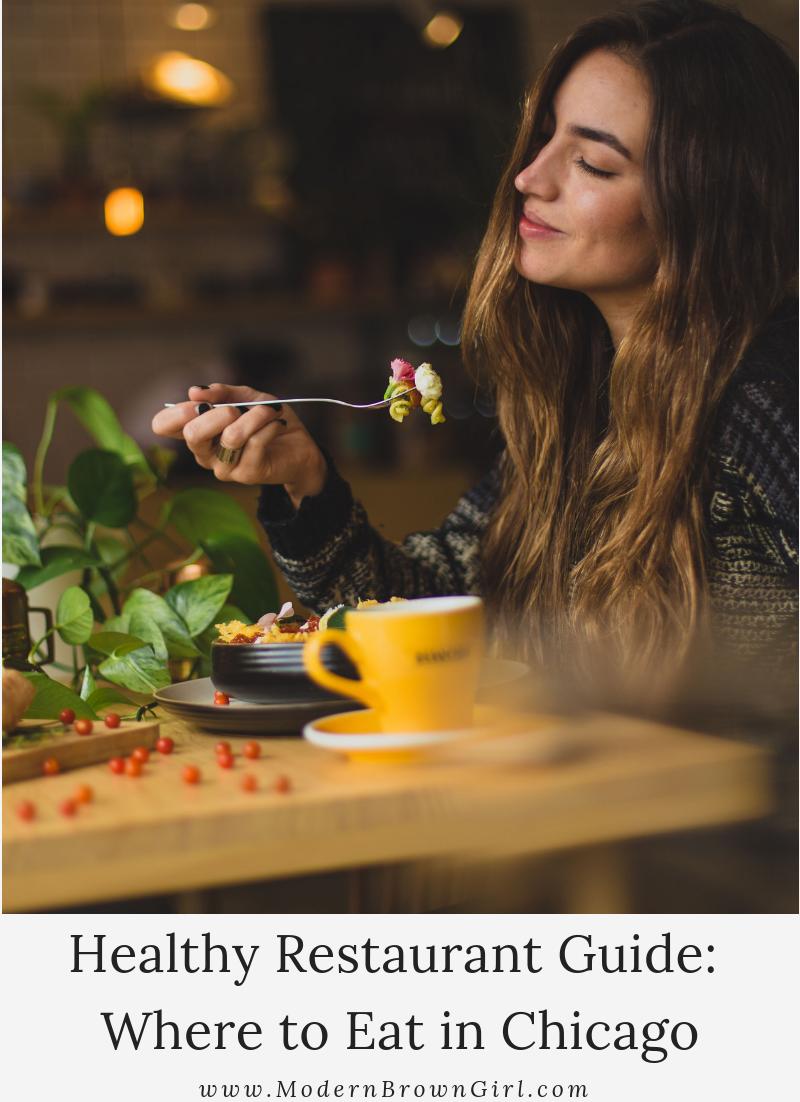Healthy Restaurant Guide Chicago