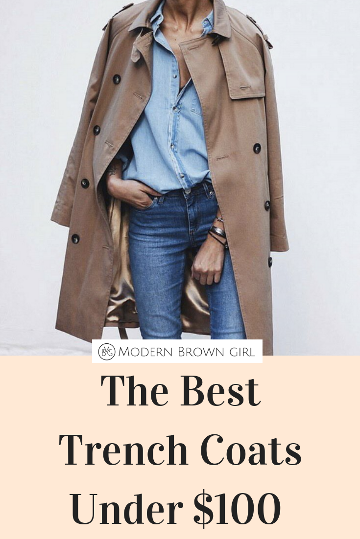 The best trench coats under $100