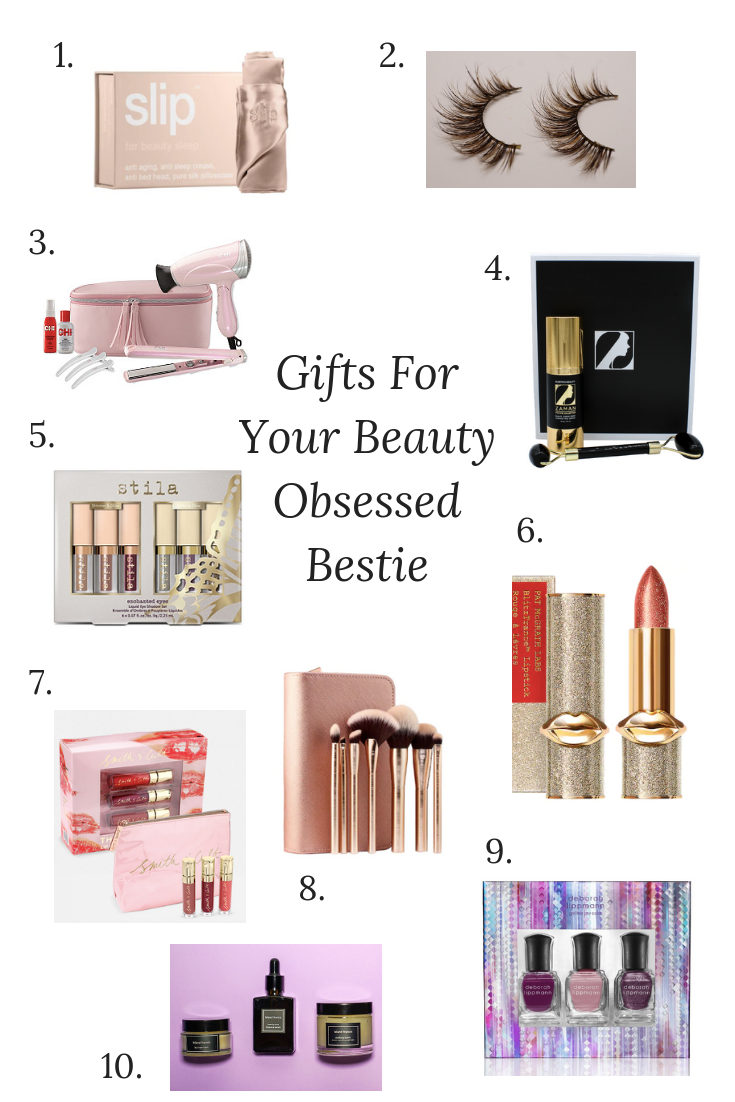 Gifts for Your Beauty Obsessed Bestie, Holiday Gift Guide