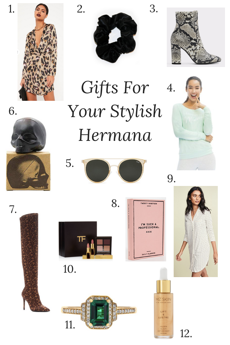 Gifts for Your Hermana, Holiday Gift Guide